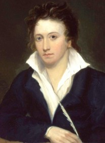 Come si pronuncia Percy Bysshe Shelley - Portrait by Alfred Clint