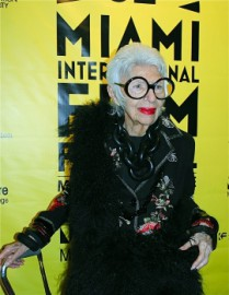 Come si pronuncia Iris Apfel - Photo by MiamiFilmFestival