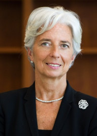 Come si pronuncia Christine Lagarde - Fonds monétaire international (identità del fotografo non identificata)