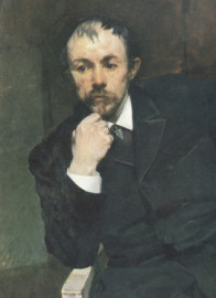 Come si pronuncia Arne Garborg - Portrait by Eilif Peterssen