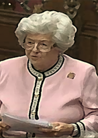 Come si pronuncia Betty Boothroyd - Photo by Robin S. Taylor